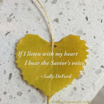 listen with my heart